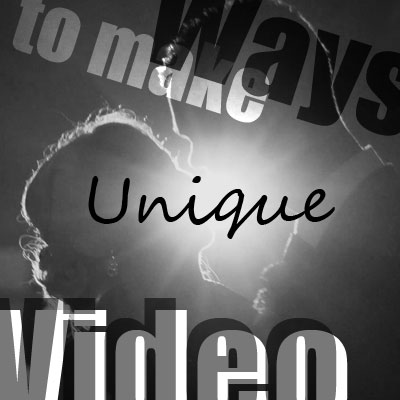 Six Ways to Make a Unique Wedding Video