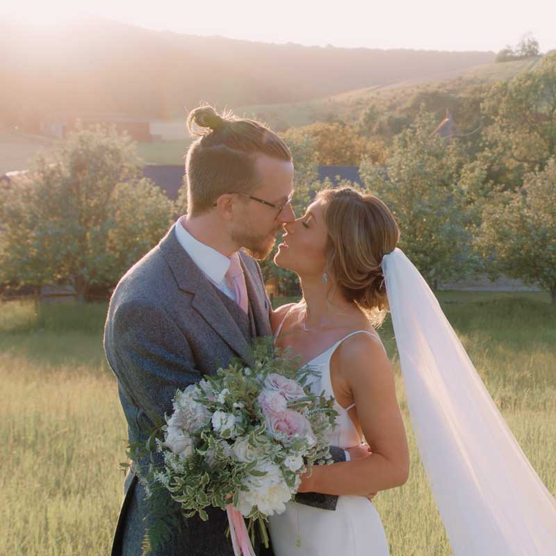 Esther & Richard Wedding at Upwaltham Barns